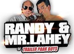 Randy and Mr Lahey of the Trailer Park Boys